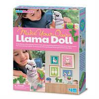 Набір для створення іграшки Лама своїми руками 4M (00-04755)