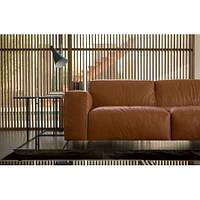 Кожаный диван реплика