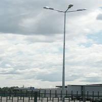 Стальная  гранёная оцинкованная опора высотой 9 м  9ASО60-156F(3)