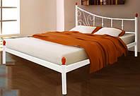 Белая кованая кровать купить в Херсоне недорого