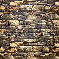 Самоклеюча декоративна 3D панелі під камінь матовий 700х770х5мм, фото 1
