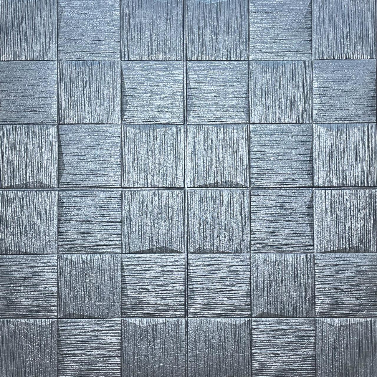 Самоклеюча декоративна потолочно-стінова 3D панель 700х770х5мм (186)