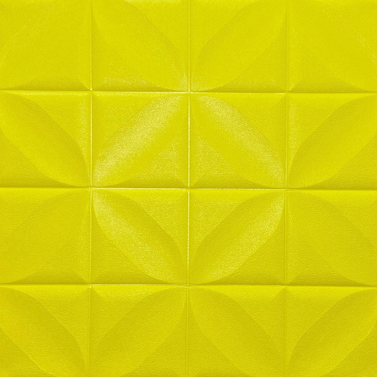 Самоклеюча декоративна потолочно-стінова 3D панель 700х700х8мм (199)