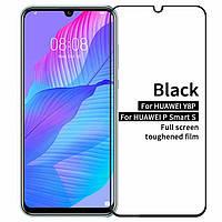 Захисне скло Huawei P Smart S | Y8P (2020) | Honor 30i Full Glue (0.3 мм, 2.5 D) чорне
