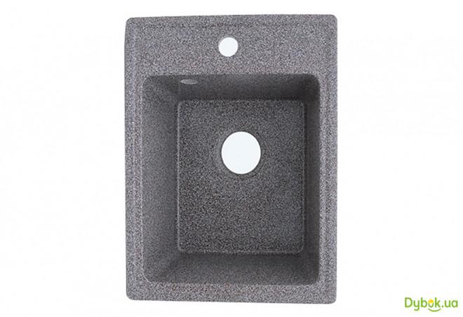 Мойка 4050, врезная гранитная (с отверстием под смеситель) Platinum