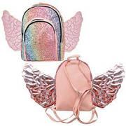 Рюкзак с крыльями и блестками 24*18*7см