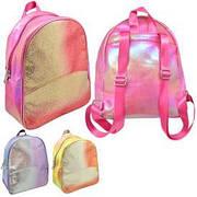 Рюкзак с блестками 30*25*11см