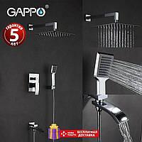 Встраиваемая душевая система Gappo Jacob G7107