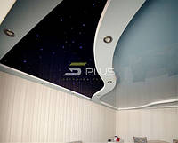 Натяжные потолки *звездное небо*