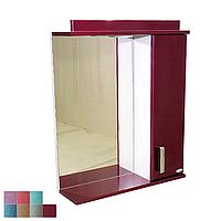 """Зеркало для ванной комнаты с подсветкой и шкафчиком """"Колибри""""и 60bm"""