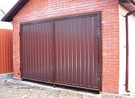 Металлические гаражные ворота Херсон, продажа заказ