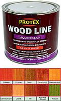 Лаковая защитная пропитка для древесины Protex