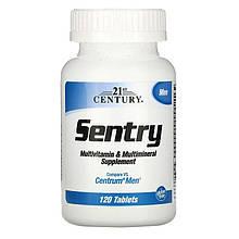 """Вітаміни і мультиминералы для чоловіків 21st Century """"Sentry Men"""" (120 таблеток)"""