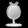 Зеркало овальное с Led подсветкой и держателем бижутерии, фото 2