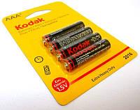 Батарейка Kodak R 03 4шт/бл