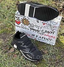 Кросівки чоловіча 40(р) чорні 1719-21 D&G КНР D