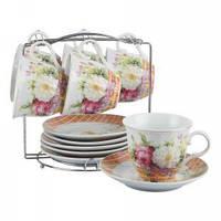 Набор чайный Белый цветок 12 предметов Оселя