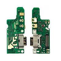 Плата зарядки для Nokia 7 Dual Sim | TA-1041 з роз'ємом зарядки і компонентами, фото 1