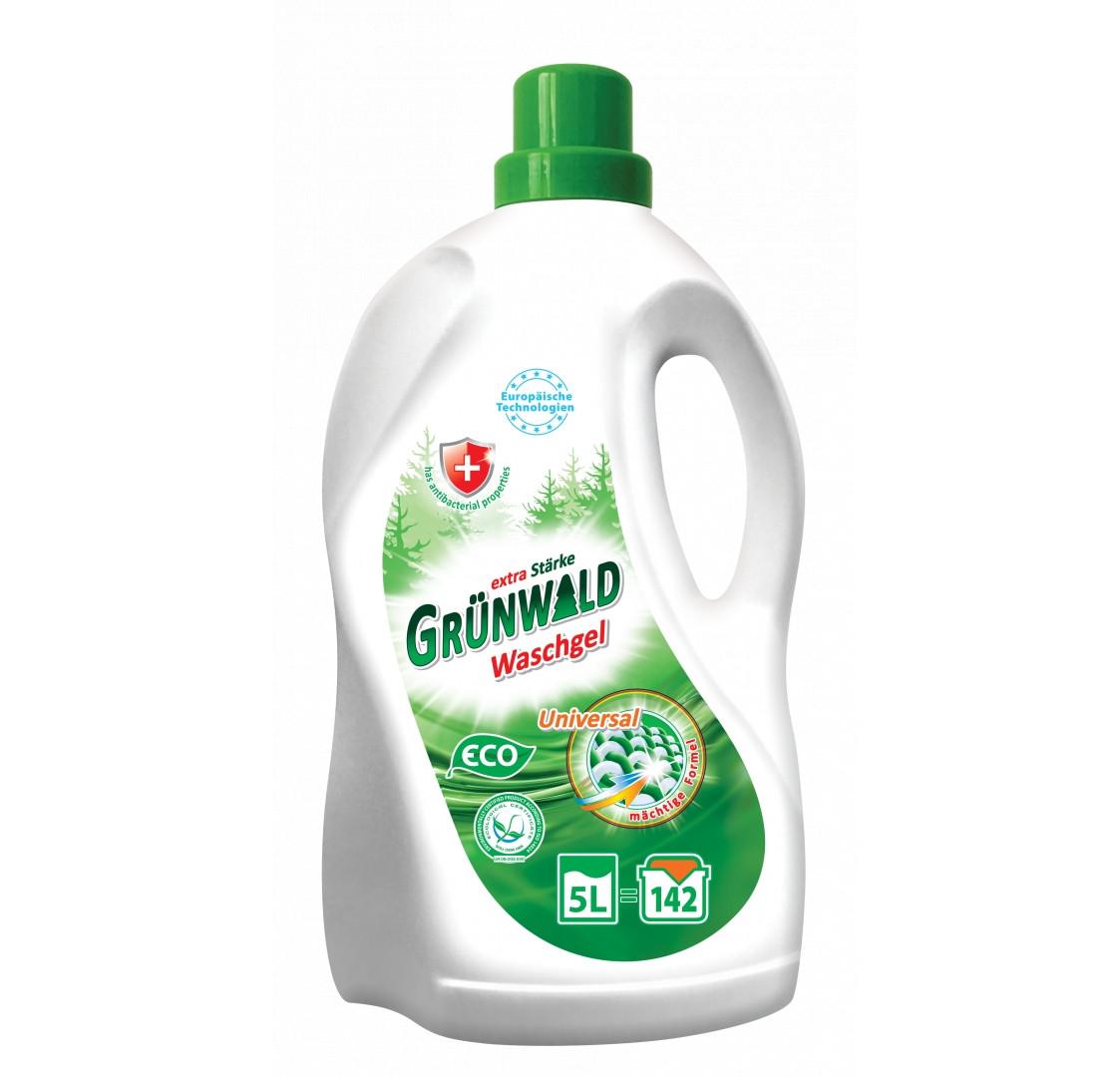 Гель для прання 5л Grunwald Универсальный