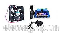 Комплект осушення електронний 12 V з регулюванням температури і вологості і блоком живлення 1 А