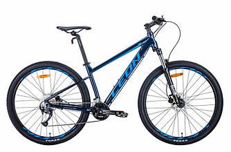 """Велосипед AL 27.5"""" LEON XC-70 AM Hydraulic lock out HDD рама-20"""" синий 2021"""