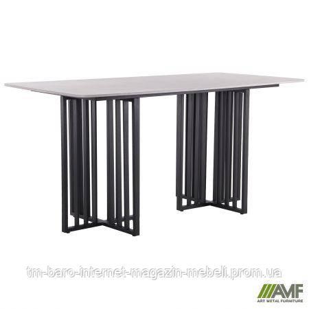 Стол обеденный Fellon black/ceramics Coastal gray