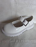 Білі туфельки для дівчинки., фото 7