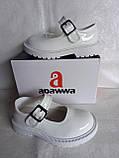 Білі туфельки для дівчинки., фото 4