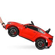 Електромобіль дитячий Mercedes M 4010EBLR-3 червоний Гарантія якості Швидка доставка, фото 3