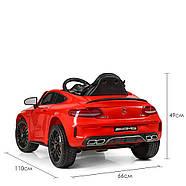 Електромобіль дитячий Mercedes M 4010EBLR-3 червоний Гарантія якості Швидка доставка, фото 2