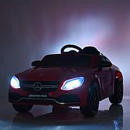 Електромобіль дитячий Mercedes M 4010EBLR-3 червоний Гарантія якості Швидка доставка, фото 6