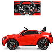 Електромобіль дитячий Mercedes M 4010EBLR-3 червоний Гарантія якості Швидка доставка, фото 4