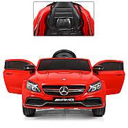 Електромобіль дитячий Mercedes M 4010EBLR-3 червоний Гарантія якості Швидка доставка, фото 5