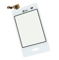 Оригинальный тачскрин / сенсор (сенсорное стекло) для LG Optimus L3 E400 (белый цвет)