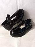 Туфлі на школу. Чорні туфлі для дівчинки., фото 8