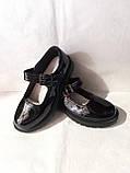 Туфлі на школу. Чорні туфлі для дівчинки., фото 7