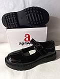 Туфлі на школу. Чорні туфлі для дівчинки., фото 5