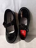 Туфлі на школу. Чорні туфлі для дівчинки., фото 2