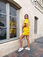 Прогулянковий костюм двійка жіночий (шорти на резинці і футболка з коротким рукавом), фото 3