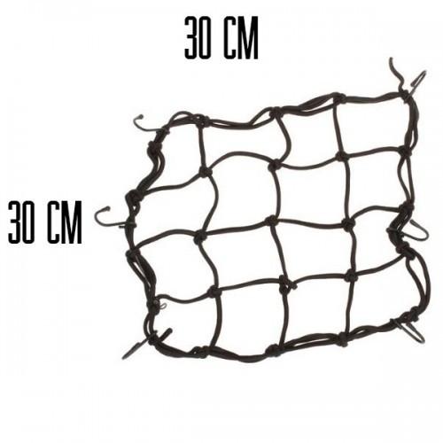 Багажна сітка чорна китай 30х30
