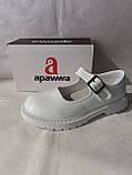 Білі лакові туфлі на дівчинку. Apawwa., фото 9