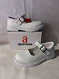 Білі лакові туфлі на дівчинку. Apawwa., фото 8