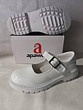 Білі лакові туфлі на дівчинку. Apawwa., фото 7