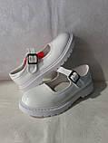Білі лакові туфлі на дівчинку. Apawwa., фото 5