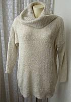 Свитер женский мягкий теплый нарядный бренд George р.46 4909а