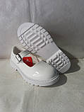 Білі лакові туфлі на дівчинку. Apawwa., фото 2