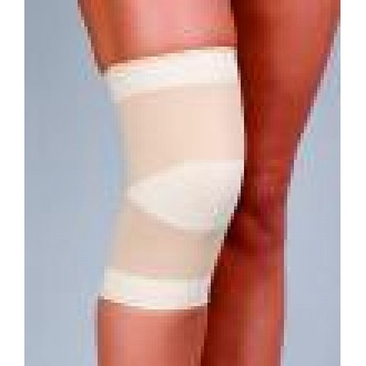 Эластичный бандаж на коленный сустав
