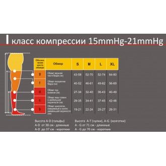 Чулки медицинские Pani Teresa PT 0406