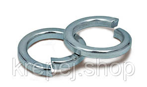Шайба d  24  пружинная, гровер DIN 127 (100 штук/упаковка)