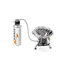 Туристичний газовий обігрівач Kovea Fireball KH-0710 з п'єзопідпалом і регулятором температури, фото 2
